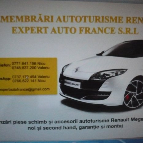 Flaps coltar stanga bara spate Renault Megane 3 Break