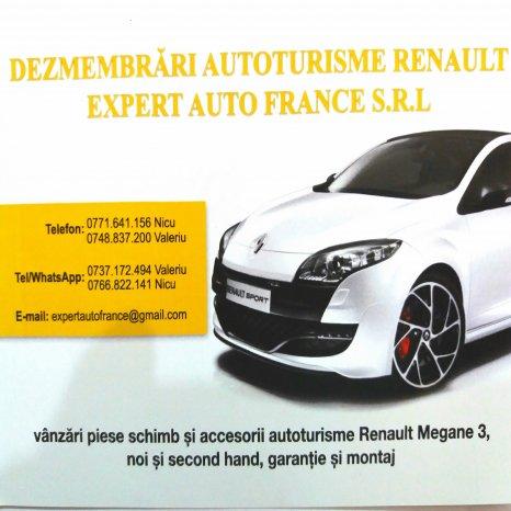 Grila bara fata Renault Megane 3 (2009-2011) .