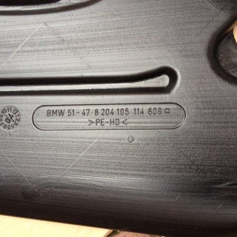 Traseu aer clima BMW E46