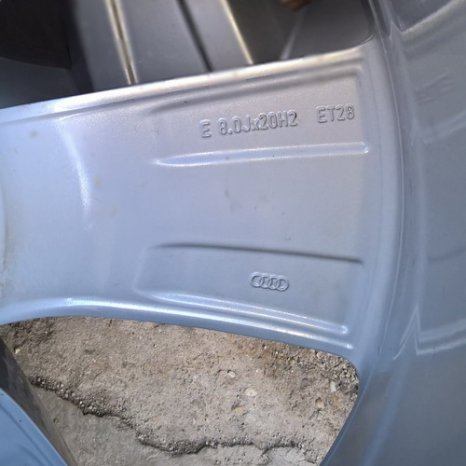 Jenti originale Audi 20 - 5x112 S-Line ( VW PassatCC,Scirocco,Eos)