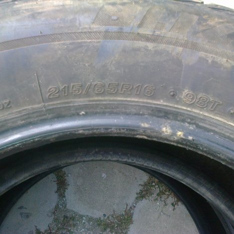 2 anvelope iarna Bridgestone 215/65/16 M+S Dacia Duster