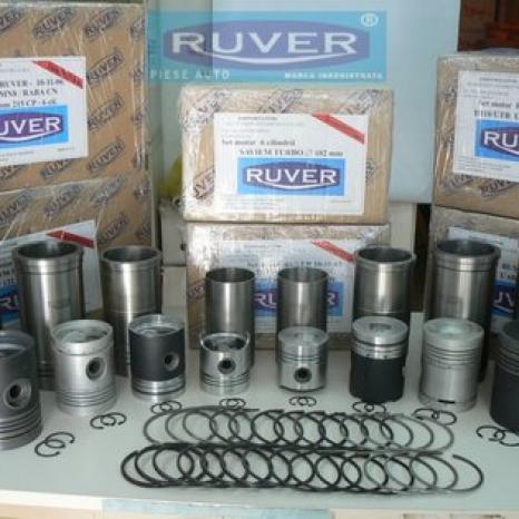 SET MOTOR SAVIEM CN / Turbo, RUVER MARCA INREGISTRATA