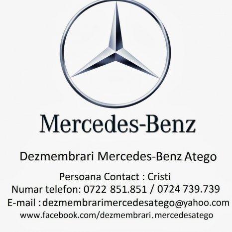 Dezmembrari Mercedes Benz Atego La Cel Mai Mic Pret De Pe Piata