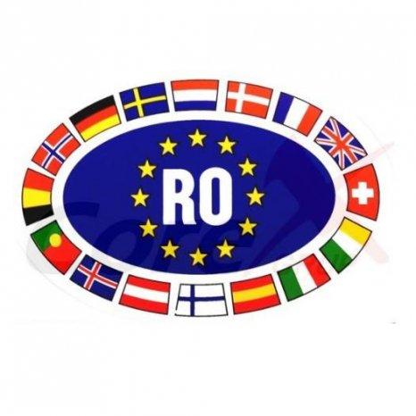 Abtibild - Sticker: romania,Europa,Diverse modele