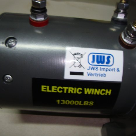 Troliu electric la 12v nou,trage13000lbs(5,9t)