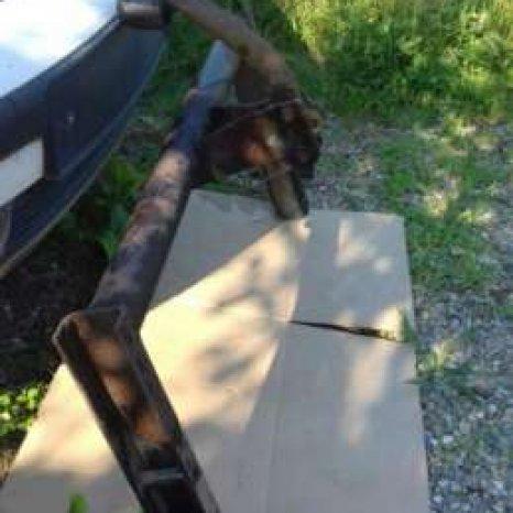 Carlig remorcare VW Passat breck Original  Stare buna