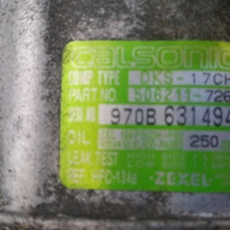Compresor AC Nissan Vanette, 2.3 diesel, an 2000