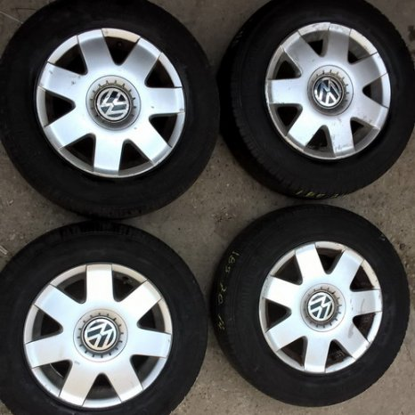 Jenti originale R14-5x100 - VW POLO, Golf3-4, Fox, Skoda Fabia
