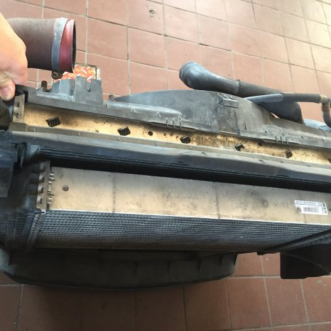 VAND SET COMPLET  RADIATOR MERCEDES ML(W164) 420 AMG