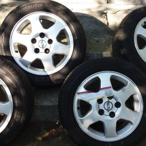 Jante aliaj Opel Meriva R15