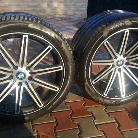 Jante BMW x6 cu Anvelope / Cauciucuri Pirelli P Zero Incluse