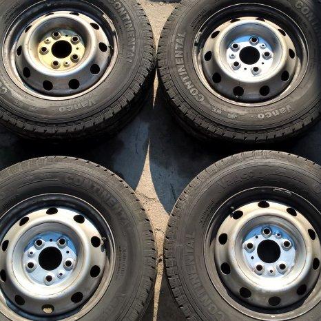 Jenti tabla FiatDucato, PeugeotBoxer, CitroenJumper pe R16-5x130