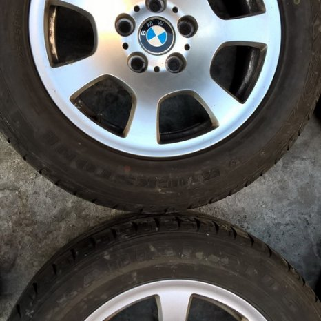 Jenti BMW aliaj pe R16- X3, X1, Z4, seria 3, 5, 6, 7