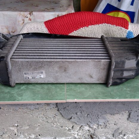 radiator inter-cooler second, Opel astra H