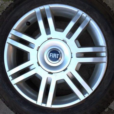 Roti aliaj (jante+anvelope vara) originale Fiat Stilo, Doblo-R16