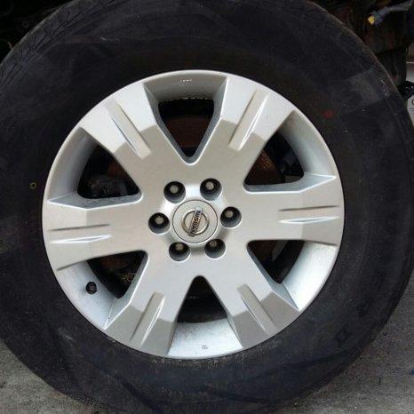 Jante R17 Nissan Navara D40/Pathfinder R5
