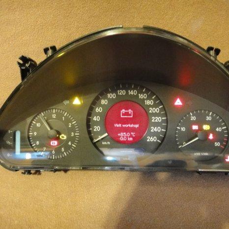 Ceasuri bord display mercedes E-class w211