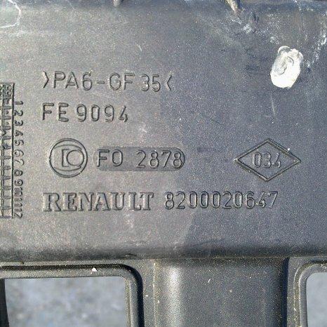 Galerie admisie Dacia/Renault 1.6 16v cod 8200020647