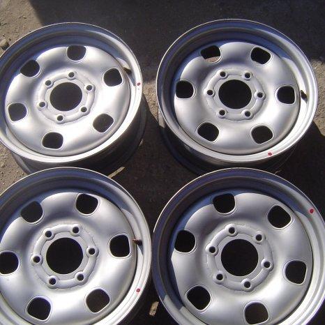 Jante noi de otel pt. Mazda B2500, BT50, Ford Ranger- R16-6x139,7