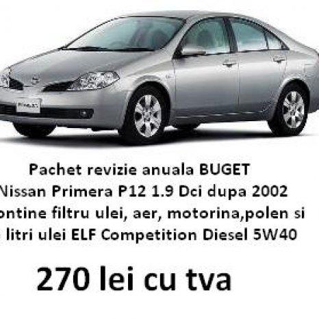 pachet revizie Nissan Primera