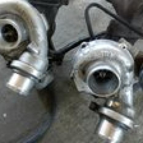 Turbocompresor Garrett - 709836-0001 - Mercedes Benz Sprinter