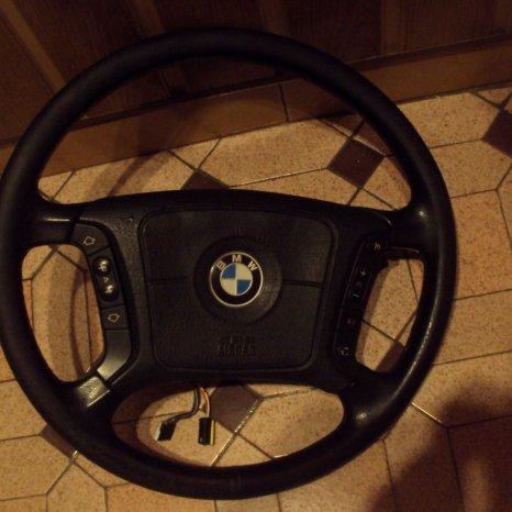 volan cu airbag ,comenzi etc pt bmw 525