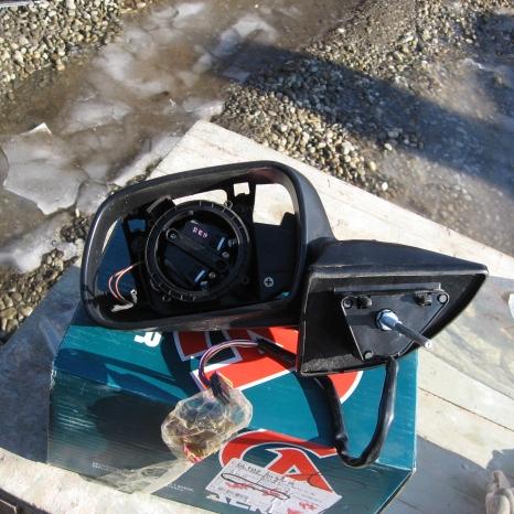 Vand oglinda stanga Peugeot 407