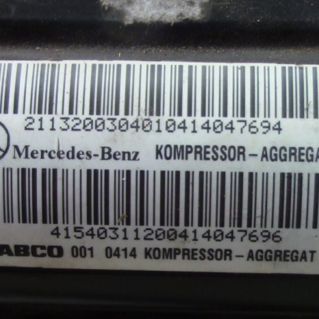 kompressor aggregat ptr mercedes benz