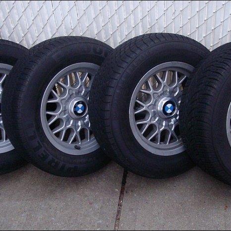 Jante BMW E39 cu anvelope