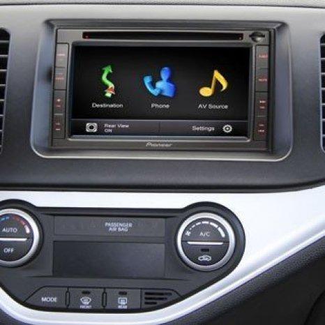 GPS Auto 2din Pioneer Avic f550bt DIVX SD Touchscreen Bluetooth