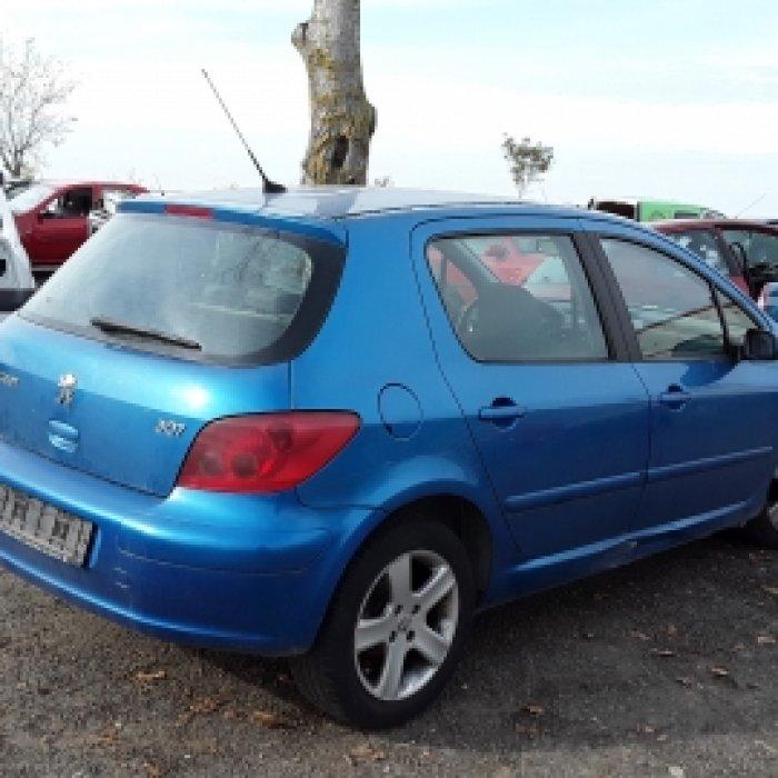 Dezmembrez Peugeot  307 ,an 2004 , motorizare 1.6