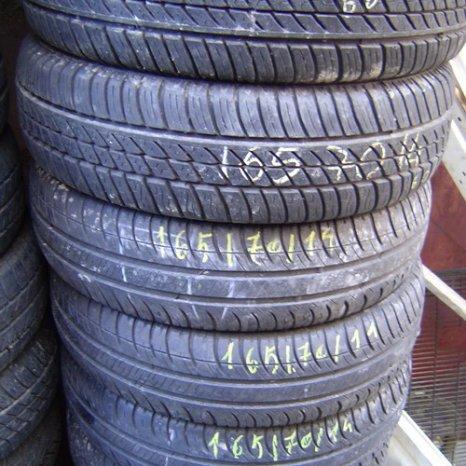 165.70.14 anvelope de vara, second hand, de la 50 lei/buc