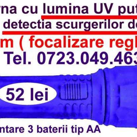 Lanterna uv freon, lanterna UV detectie freon