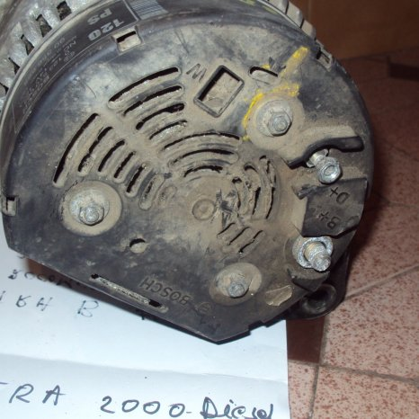 alternator opel vectra an 2000 motor 2000 dti