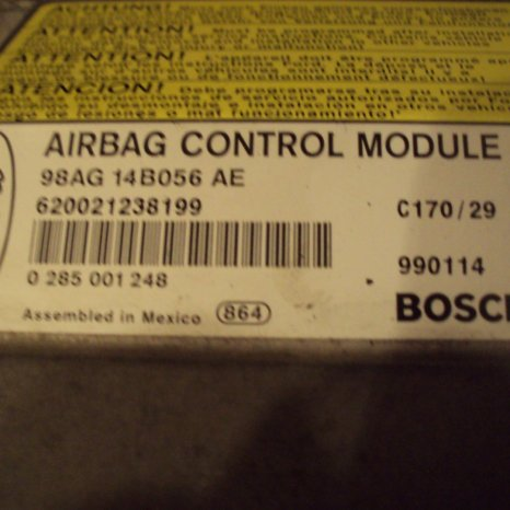 calculator air bag ford focusan 2000