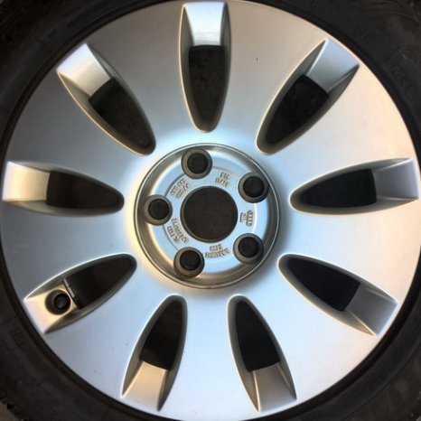Jenti aliaj originale AUDI-SpeedLine pe R16-5c112 - VW, Seat