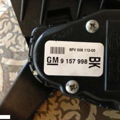 Pedala acceleratie Opel Astra H 1.7 CTDI