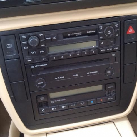 Vand cd-player vw passat