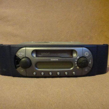 Radio casetofon smart fortwo
