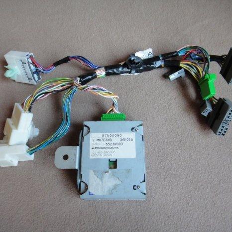 Vand interfata can bus controller navi mmcs radio ac mitsubishi 8