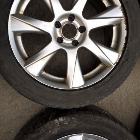 Roti 18-5x112+cauciucuri 235/50/18Dunlop - Mercedes Klasse A,B,C