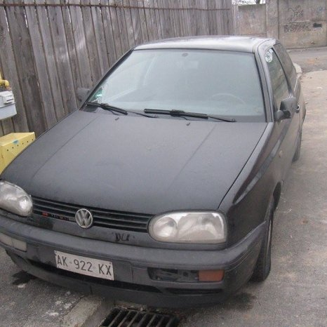 Debitmetru vw golf 3