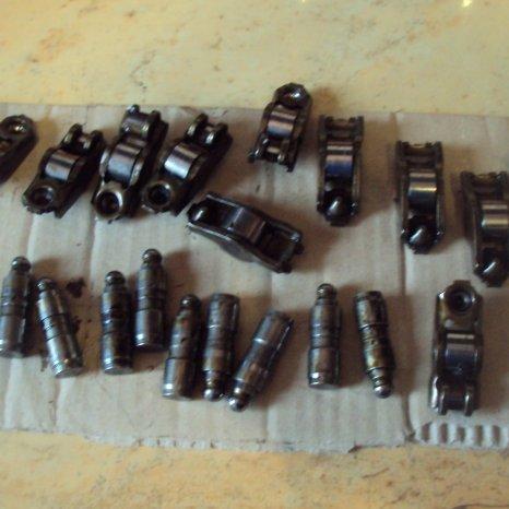 tacheti si culbutori pt renault  1600 cm3 16 valve motor k4m