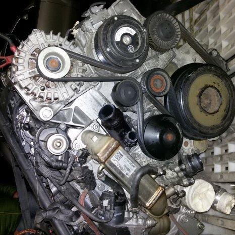 vand motor BMW N47D20A 143 CP