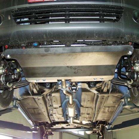 Scut motor din otel Chevrolet Spark