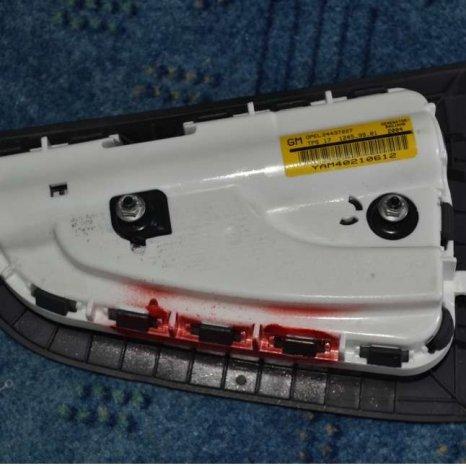 Vand airbag scaun pasager Opel Astra H