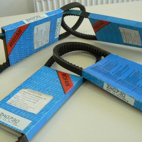 Curele auto trapezoidale transmisie RO-FAN 2A, 3A ROULUNDS DANEMA