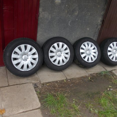 Roti tabla Opel originale 215/60 R16 Astra, Zafira, ALL SEASON