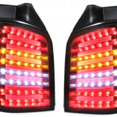 Stopuri LED VW T5 03-12/09 LED indicator negru / fumuriu-