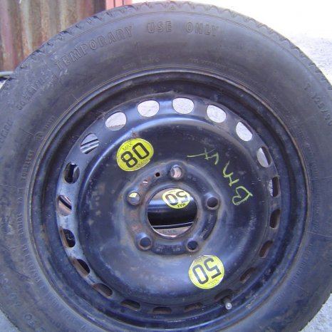 Roata rezerva SLIM (ingusta) R15-5x120 pt. BMW serie 3